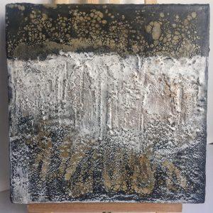 Abstract Encaustic Artwork 1